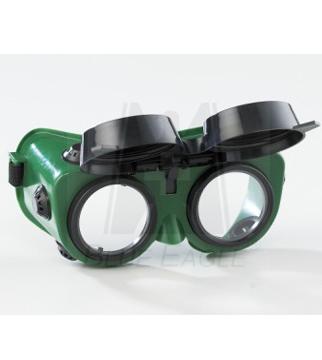 Kính bảo hộ hàn hơi 2 lớp mắt kính KBH-DL-13