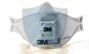 Khẩu trang giấy 3M N95 9211 có van KTG-3M-09