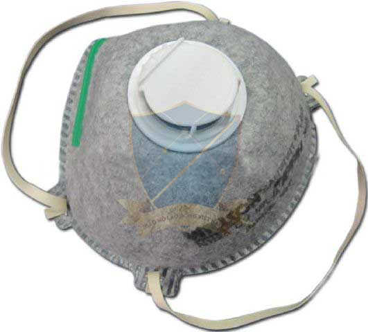 Khẩu trang giấy N95 Willson N1125 OV có van thở có than KTG-FR-04