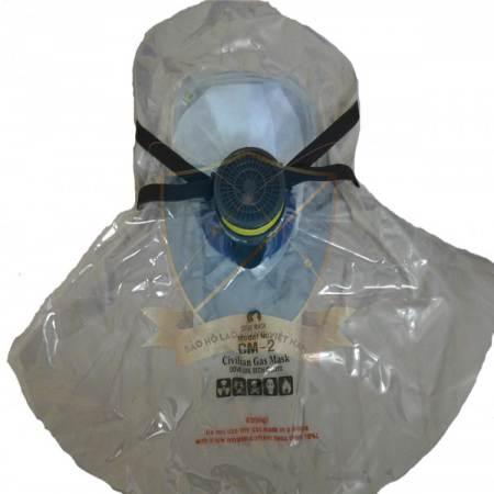 Mũ thoát hiểm trùm đầu phòng khói độc Hàn Quốc MNP-KR-04
