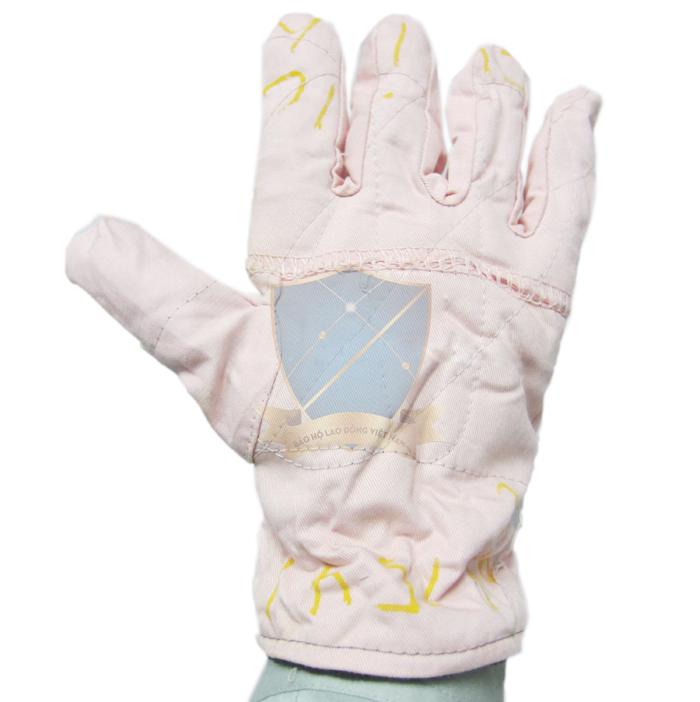 Găng vải kaki cotton đẹp có lót nỉ dày, rộng  GTV-VN-04