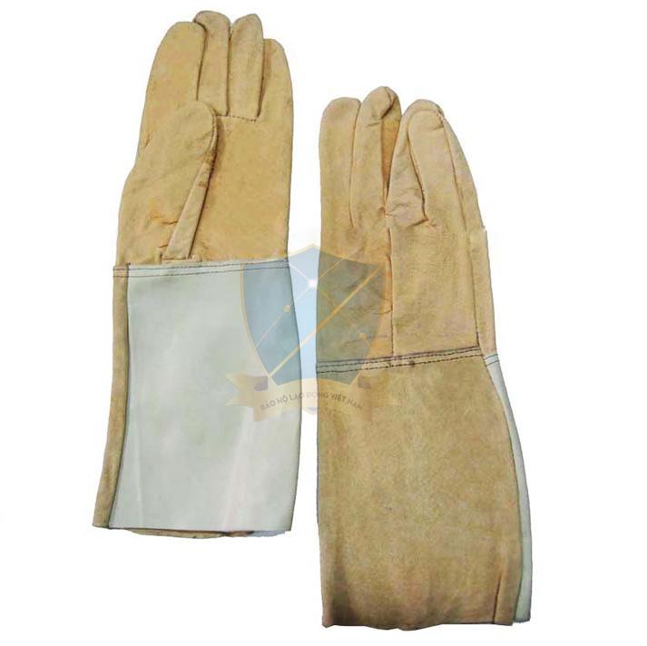 Găng tay da dài-da cật VN GTD-VN-01