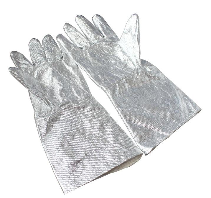 Găng tay chống cháy chịu nhiệt amiang 500°C Ocean eagle GTCN-VN-04