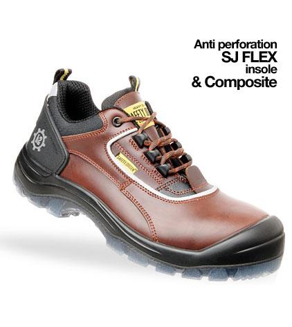 Giày da bảo hộ jogger Galaxy S3  GDBH-CN-07
