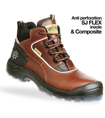 Giày da bảo hộ jogger Geos S3 GDBH-CN-06