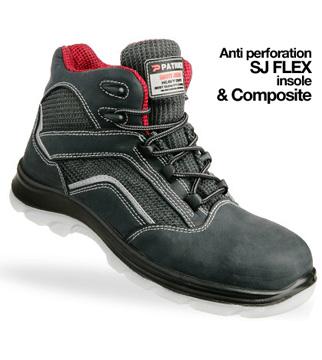 Giày da bảo hộ jogger Mountain S1P GDBH-CN-15