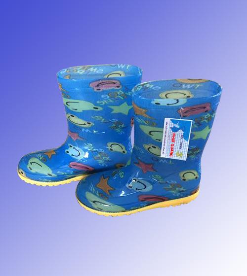 Ủng trẻ em màu xanh dương hình chú ếch UCS-VN-55