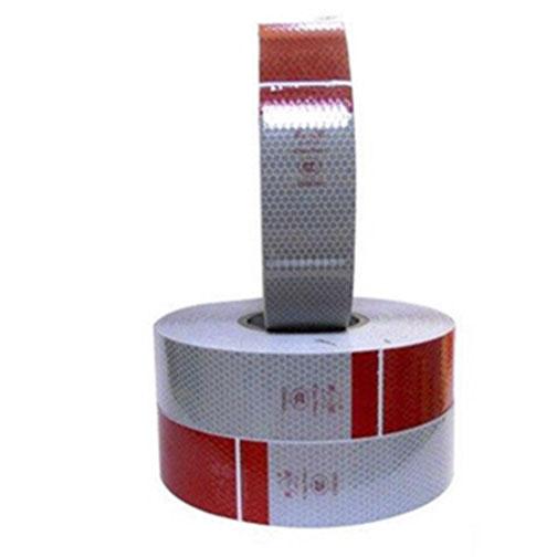 Đề can phản quang đỏ trắng 5cm DC-VN-01