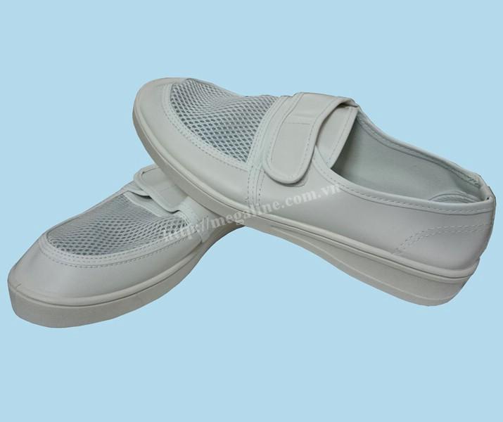 Giày chống tĩnh điện Linkworld mặt lưới quai dán DS008359